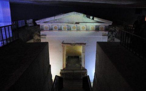 Οι μακεδονικοί τάφοι στo πολεοδομικό συγκρότημα Θεσσαλονίκης