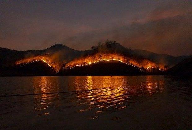 Φωτιά... από τη Μαρία Σκαμπαρδώνη