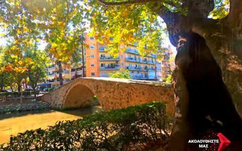 Χαλαρωτική βόλτα στο πάρκο Κιουπρί στην Έδεσσα!